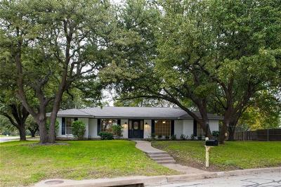 Fort Worth Single Family Home For Sale: 4128 Alicante Avenue