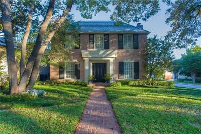 Fort Worth Single Family Home Active Option Contract: 4100 Clarke Avenue