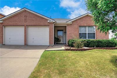 Sherman Single Family Home Active Option Contract: 4210 Cardinal Drive
