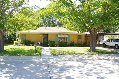 Saginaw Single Family Home Active Option Contract: 321 Western Avenue