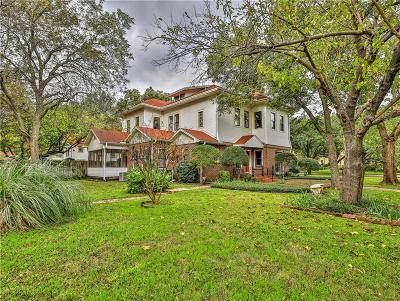 Cleburne Single Family Home For Sale: 804 Prairie Avenue