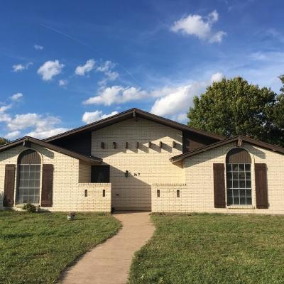 Red Oak Single Family Home Active Option Contract: 102 Bow Creek Circle