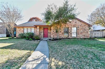 Allen Single Family Home Active Option Contract: 560 Fisher Drive