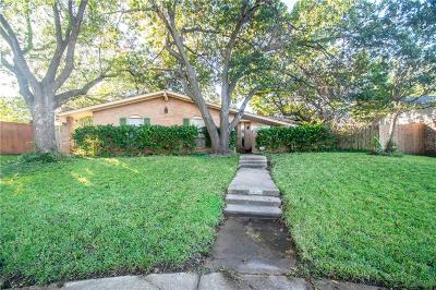 Irving Single Family Home Active Option Contract: 3608 Chime Place