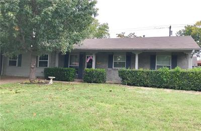 Irving Single Family Home Active Option Contract: 3221 Thames Street