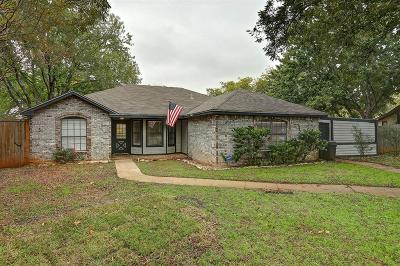 Corinth TX Single Family Home For Sale: $219,500