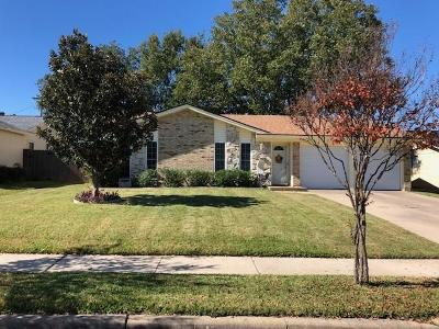 Irving Single Family Home Active Option Contract: 3013 Esters Court