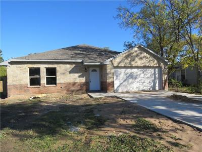 Haltom City Single Family Home Active Option Contract: 4301 Joy Lee Street