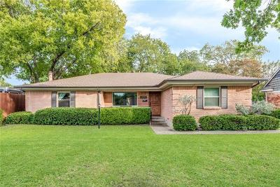 Farmers Branch Single Family Home For Sale: 2965 Selma Lane