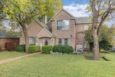 Frisco Single Family Home Active Option Contract: 7945 Hickory Street