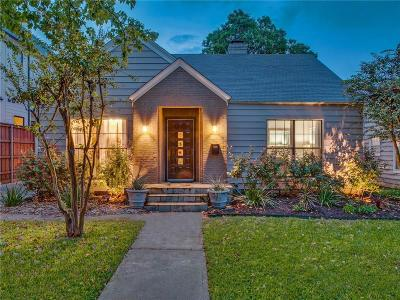 Dallas County Single Family Home For Sale: 4926 Elsby Avenue