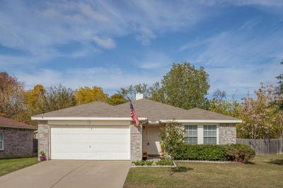 Dallas Single Family Home Active Option Contract: 1439 Hidden Valley Drive