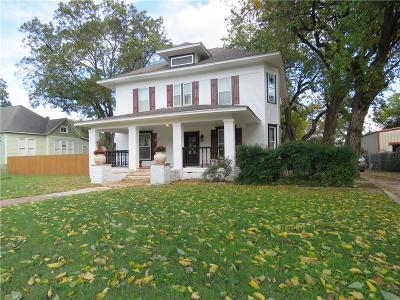 Cleburne Single Family Home For Sale: 732 N Anglin Street