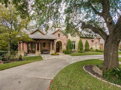 Dallas County Single Family Home For Sale: 7541 Mason Dells Drive
