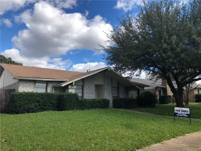 Mesquite TX Single Family Home For Sale: $212,000