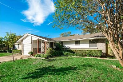 Garland Single Family Home Active Option Contract: 505 Sunset Drive