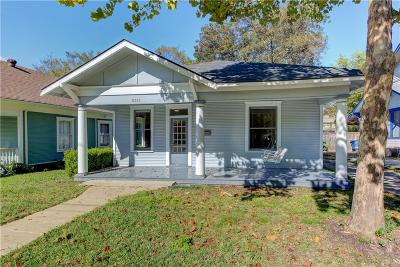 Dallas Single Family Home For Sale: 5511 Worth Street