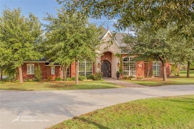 Abilene Single Family Home For Sale: 4189 Oldham Lane