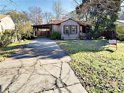 Fort Worth Single Family Home For Sale: 4705 Dilworth Court