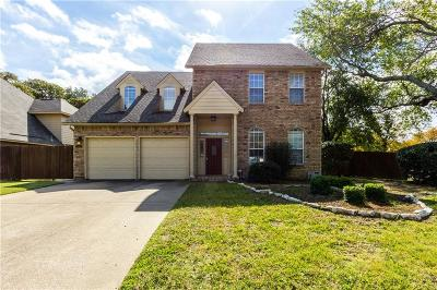 Grapevine Single Family Home Active Option Contract: 541 Post Oak Road