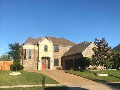 Forney Single Family Home For Sale: 1140 Warbler Drive