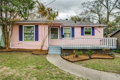 Dallas Single Family Home For Sale: 8714 San Benito Way