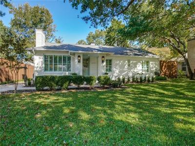 Dallas County Single Family Home For Sale: 6243 Del Norte Lane