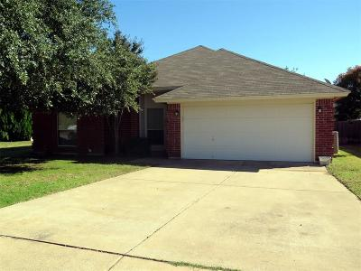 Rhome TX Single Family Home For Sale: $210,000