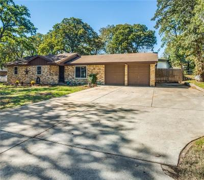 Fort Worth Single Family Home Active Option Contract: 6340 Valley Ridge Drive
