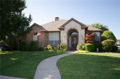 Sachse Single Family Home Active Contingent: 2609 Ranch Road