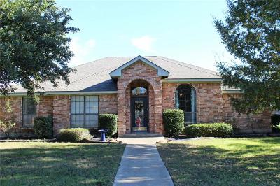 Kaufman Single Family Home Active Option Contract: 1503 Overlook Drive