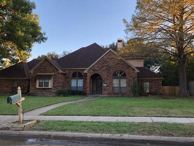 Garland Single Family Home For Sale: 506 Cashmere Drive