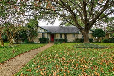 Dallas County Single Family Home For Sale: 9743 Burney Drive