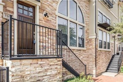 Plano Townhouse Active Option Contract: 7209 Kasko Drive