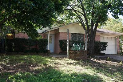 Bedford Single Family Home For Sale: 1316 Bryan Drive
