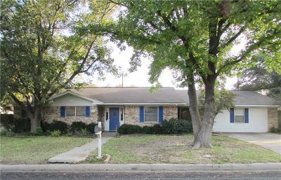 Stephenville Single Family Home For Sale: 1335 N Lillian Street