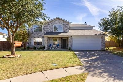 Mckinney Single Family Home Active Option Contract: 2905 Palomino Court