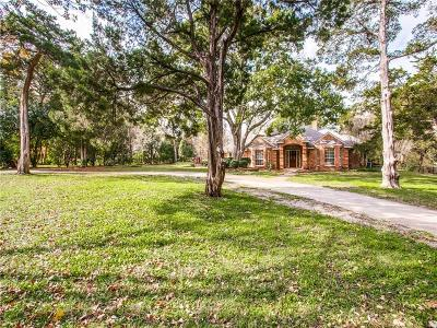 Cedar Hill Single Family Home For Sale: 1501 N Joe Wilson Road
