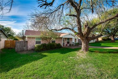 Cedar Hill Single Family Home Active Option Contract: 1212 Neptune Drive