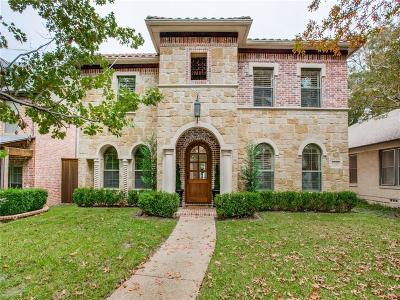 Dallas County Single Family Home For Sale: 6315 Velasco Avenue