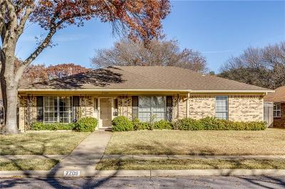 Dallas Single Family Home For Sale: 7709 La Verdura Drive