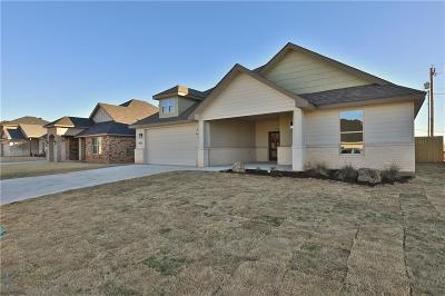 Abilene Single Family Home Active Option Contract: 6825 Inverness Street