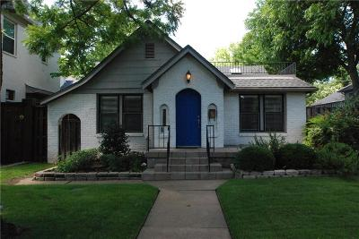 Fort Worth Single Family Home For Sale: 5512 El Campo Avenue