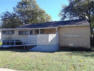 Dallas Single Family Home Active Option Contract: 3122 S Beckley Avenue