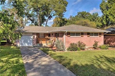 Dallas County Single Family Home Active Option Contract: 8840 Larchwood Drive