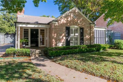 Highland Park Single Family Home For Sale: 4652 Southern Avenue