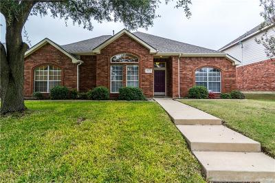 Frisco Single Family Home Active Option Contract: 9516 Winter Park Drive
