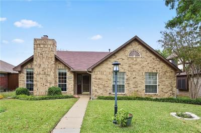 Lewisville Single Family Home Active Option Contract: 1553 Glenmore Drive