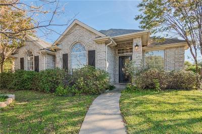 Frisco Single Family Home Active Option Contract: 9939 Cambridge Drive