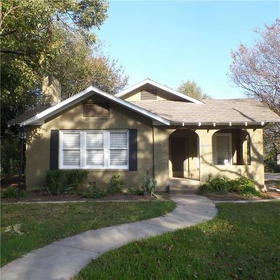 Cleburne Single Family Home For Sale: 1013 Prairie Avenue